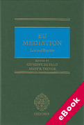 Cover of EU Mediation Law and Practice (eBook)