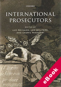 Cover of International Prosecutors (eBook)