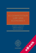 Cover of EU Competition Law and Economics (eBook)