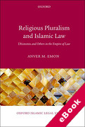 Cover of Religious Pluralism in Islamic Law: Dhimmis and Others in the Empire of Law (eBook)