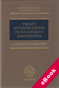 Cover of Treaty Interpretation in Investment Arbitration (eBook)