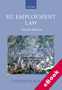 Cover of EU Employment Law (eBook)