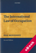 Cover of The International Law of Occupation (eBook)