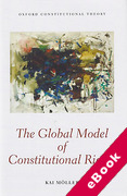 Cover of The Global Model of Constitutional Rights (eBook)
