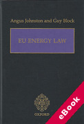 Cover of EU Energy Law (eBook)