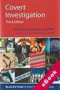 Cover of Covert Investigation (eBook)