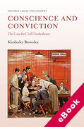Cover of Conscience and Conviction: The Case for Civil Disobedience (eBook)