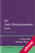 Cover of EU Anti-Discrimination Law (eBook)