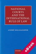 Cover of National Courts and the International Rule of Law (eBook)