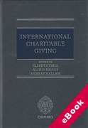 Cover of International Charitable Giving (eBook)