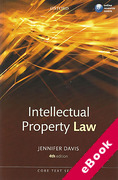 Cover of Core Text: Intellectual Property Law (eBook)