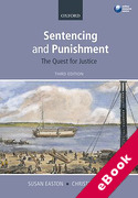 Cover of Sentencing and Punishment: The Quest for Justice (eBook)