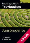 Cover of McCoubrey & White's Textbook on Jurisprudence (eBook)