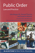 Cover of Public Order: Law and Practice