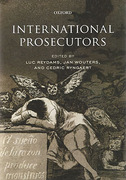 Cover of International Prosecutors