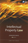 Cover of Core Text: Intellectual Property Law