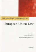 Cover of Philosophical Foundations of EU Law