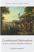 Cover of Constitutional Referendums: The Theory and Practice of Republican Deliberation