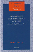 Cover of Mistake and Non-Disclosure of Fact: Models for English Contract Law