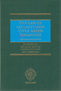 Cover of The Law of Security and Title-Based Finance