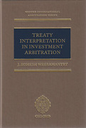 Cover of Treaty Interpretation in Investment Arbitration