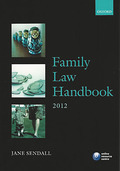 Cover of LPC: Family Law Handbook 2012