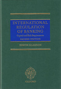 Cover of International Regulation of Banking: Capital and Risk Requirements