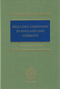 Cover of Rescuing Companies in England and Germany