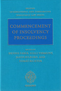 Cover of Commencement of Insolvency Proceedings