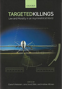 Cover of Targeted Killings: Law and Morality in an Asymmetrical World