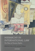 Cover of Hierarchy in International Law: The Place of Human Rights