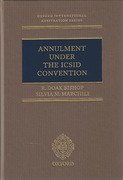 Cover of Annulment under the ICSID Convention