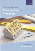 Cover of Telling & Duxbury's Planning Law and Procedure