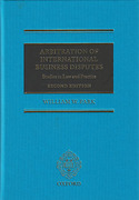 Cover of Arbitration of International Business Disputes: Studies in Law and Practice