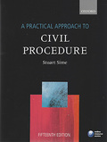 Cover of A Practical Approach to Civil Procedure