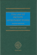 Cover of The Law of Private Investment Funds
