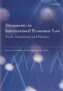 Cover of Documents in International Economic Law: Trade, Investment, and Finance