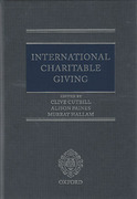 Cover of International Charitable Giving