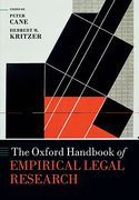 Cover of The Oxford Handbook of Empirical Legal Research