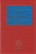 Cover of Blackstone's Civil Practice 2013