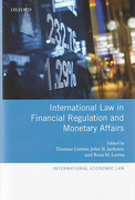 Cover of International Law in Financial Regulation and Monetary Affairs