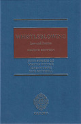 Cover of Whistleblowing: Law and Practice