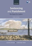Cover of Sentencing and Punishment: The Quest for Justice