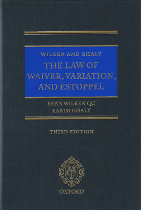 waiver and estoppel contract law