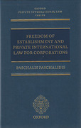 Cover of Freedom of Establishment and Private International Law for Corporations