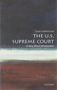 Cover of U.S Supreme Court: A Very Short Introduction