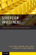 Cover of Sovereign Investment: Concerns and Policy Reactions