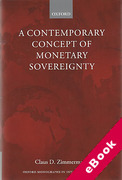 Cover of A Contemporary Concept of Monetary Sovereignty (eBook)