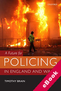 Cover of A Future for Policing in England and Wales (eBook)