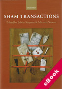 Cover of Sham Transactions (eBook)